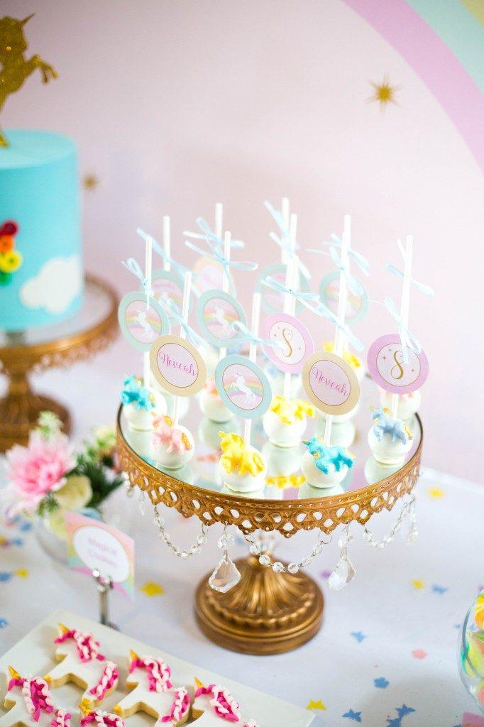 Candybar fiesta unicornio