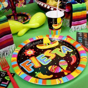 platos fiesta mexicana