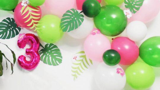 Cómo hacer una guirnalda de globos